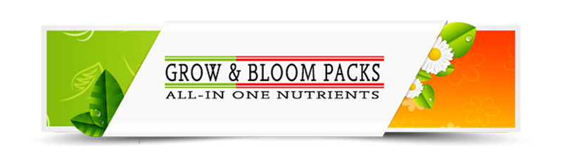Grow and Bloom Packs