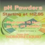pH Powders
