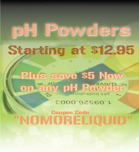 pH Powders