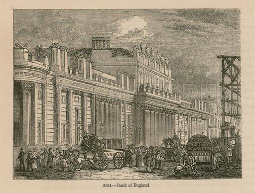 Bank of England, Sir John Soane's South Front, 1823