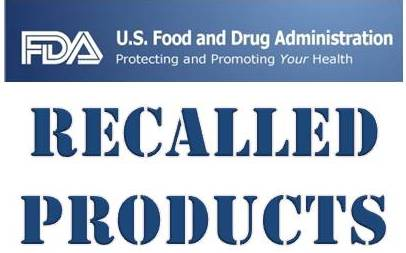 FDA Recalled Products