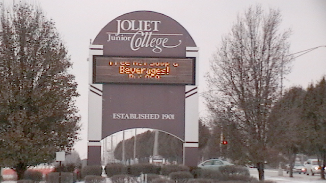 Joliet_Junior_College_Sign
