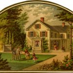 Cutout_depicting_a_game_of_croquet_on_the_front_lawn_(14058887739)