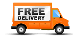 Free_Delivery-Orange-Truck-Icon